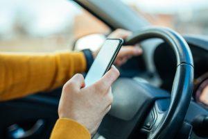 contravention pour cellulaire au volant